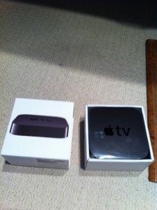 Apple TV Box inside